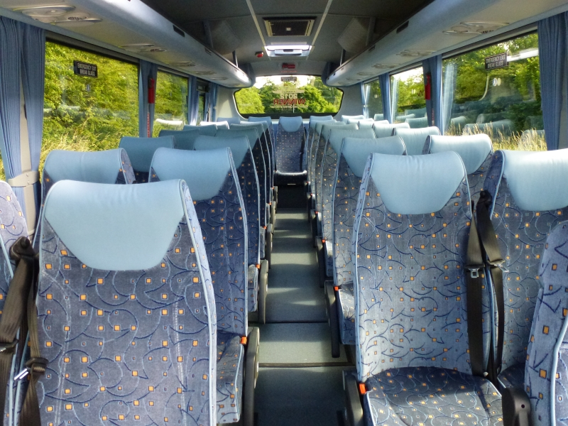 Interior of Midi Coach - Click to Enlarge
