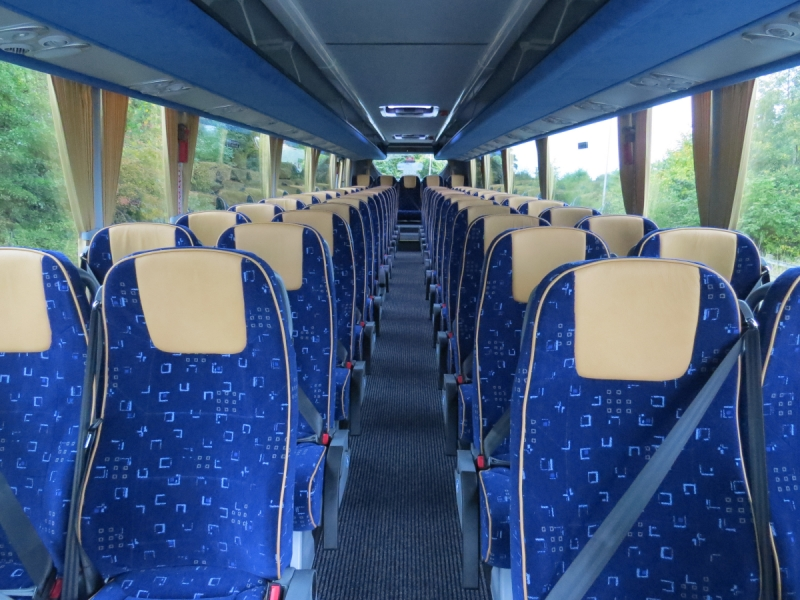 Interior of 57 Seater Coach - Click to Enlarge