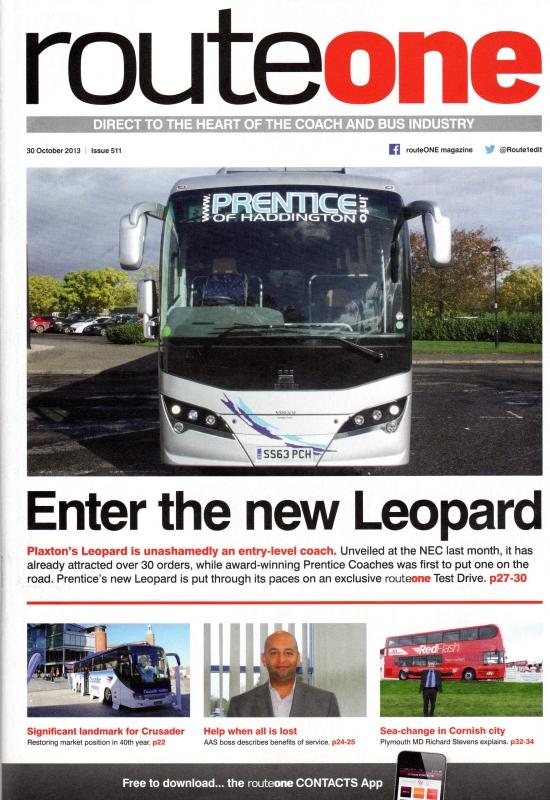 Prentice Coaches of Haddington - Multi award winning bus & coach company