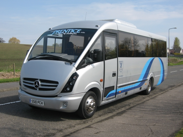New 33 seater Plaxton Cheetah2- Click to Enlarge