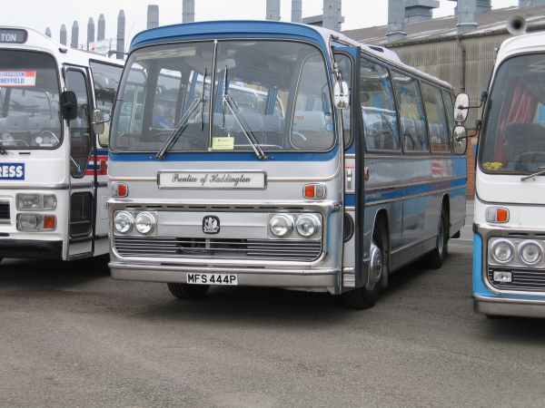 Our Classic Coach at Plaxton 100- Click to Enlarge