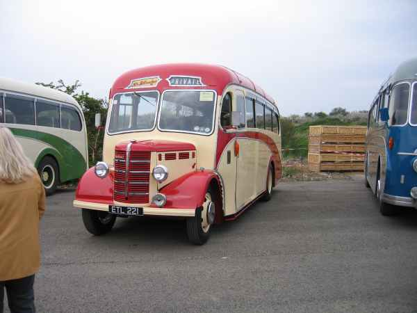 An extremely Rare Bedford OB Plaxton- Click to Enlarge