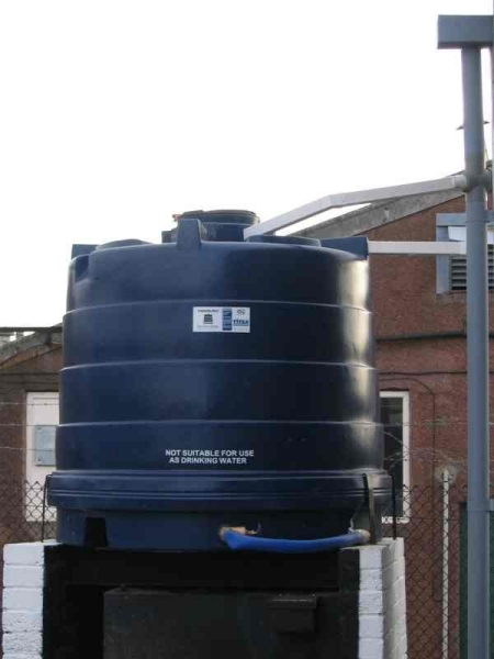 our rainwater harvesting system- Click to Enlarge